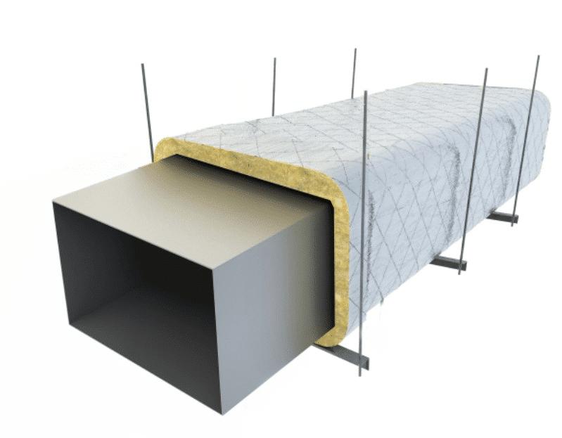 materassino per condotte di ventilazione