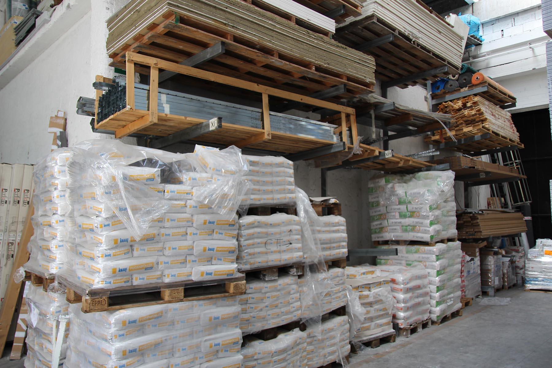 materiale per l'edilizia